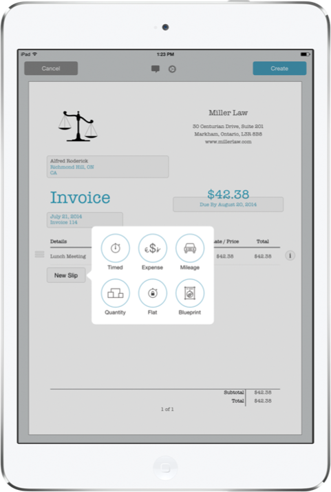 Invoicing On Your Mac IPhone IPad Marketcircle - How to make an invoice on iphone