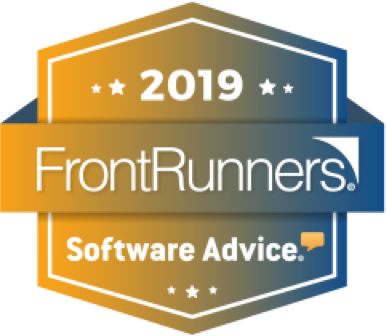 named SoftwareAdvice FrontRunners 2019