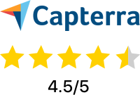 Capterra 4.5 out of 5 star rating