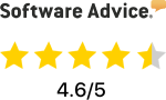 Software Advice 4.6 out of 5 star rating