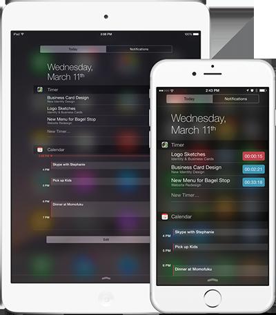 BP iPad and iPhone_todays widget2