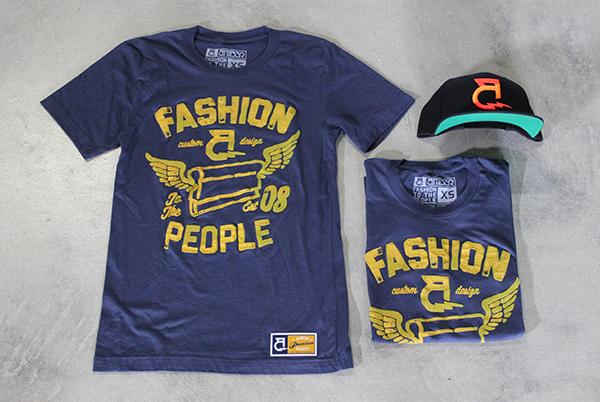AMB3R Creative Fashion People T-shirt